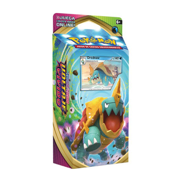 "Pokemon TCG: Sword & Shield Vivid Voltage Theme Deck Featuring Drednaw ""SPANISH EDITION"""