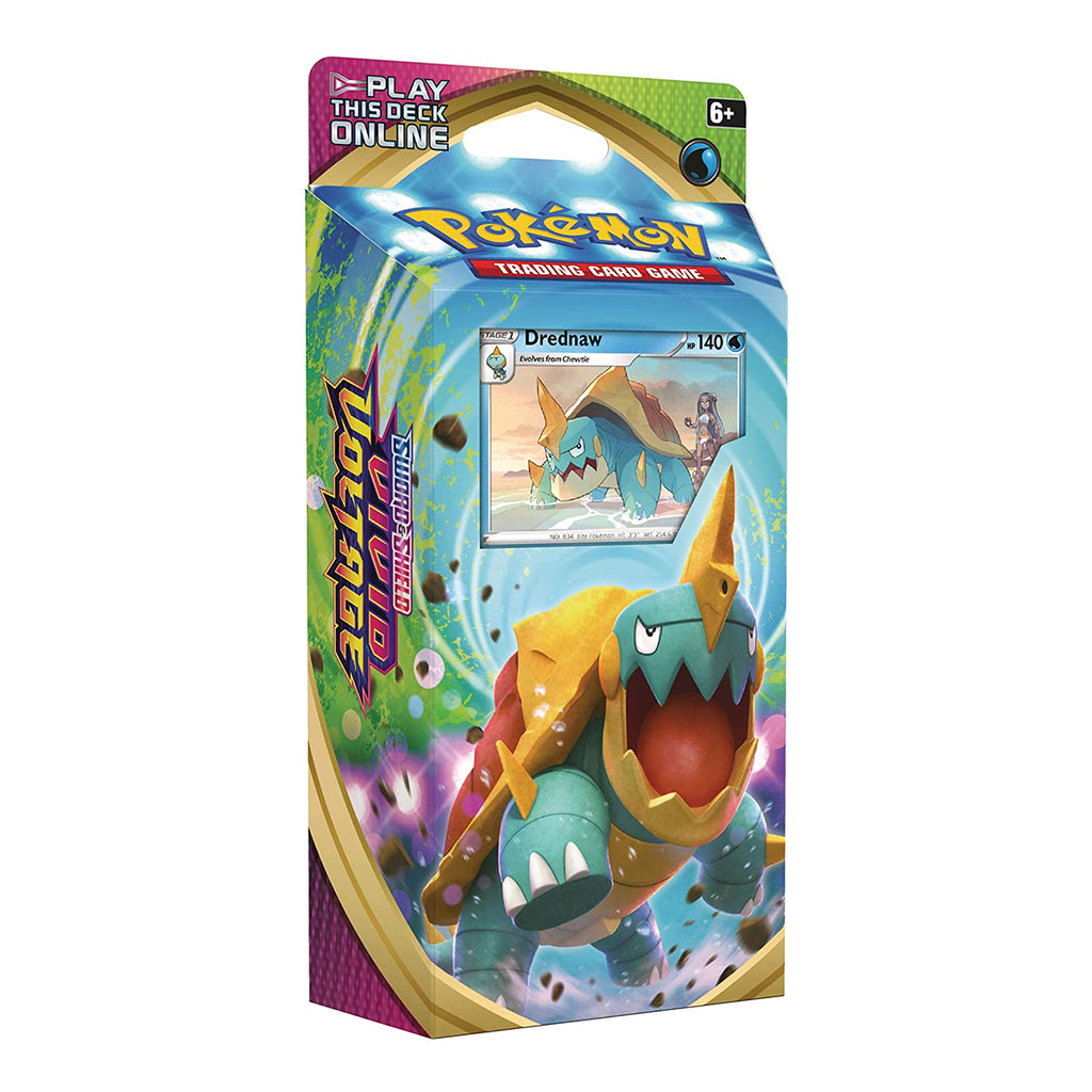 "Pokemon TCG: Sword & Shield Vivid Voltage Theme Deck Featuring Drednaw  ""ENGLISH EDITION"""