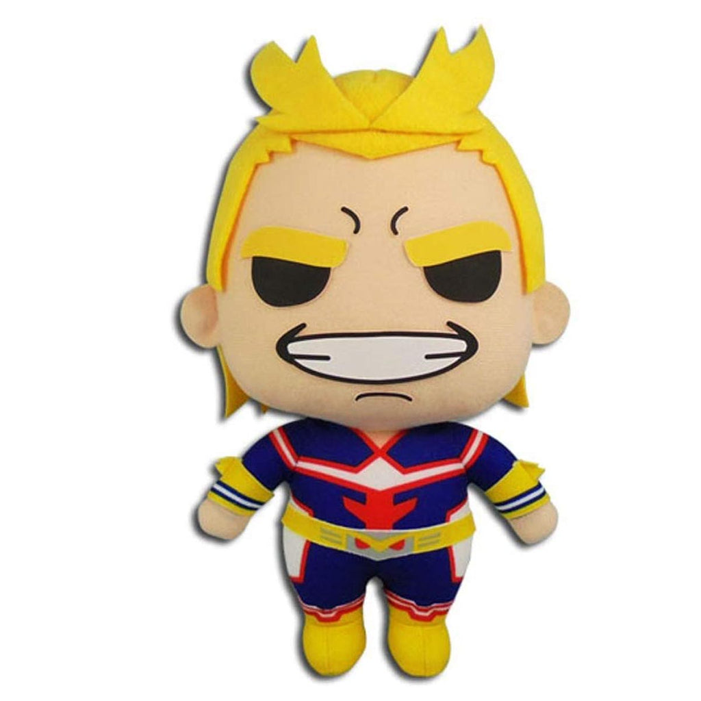 "Great Eastern Entertainment My Hero Academia All Might Plush Toy, 8"" H"