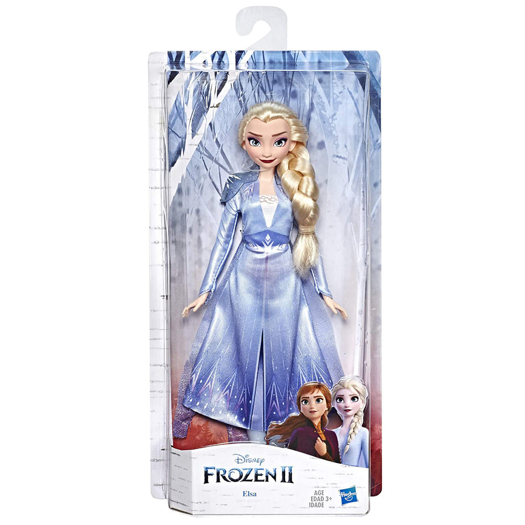 Disney Frozen Elsa Fashion Doll with Long Blonde Hair & Blue Outfit Inspired by Frozen 2
