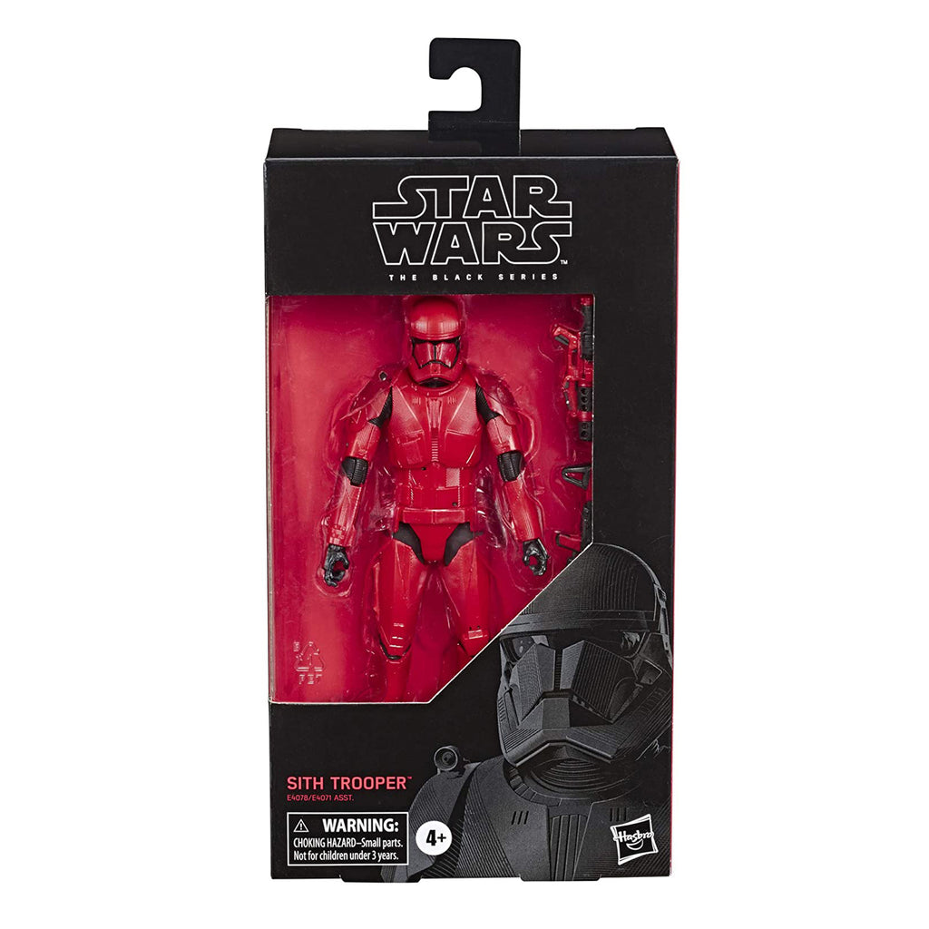 "Star Wars The Black Series Sith Trooper Toy 6"" Scale The Rise of Skywalker Collectible Action Figure"