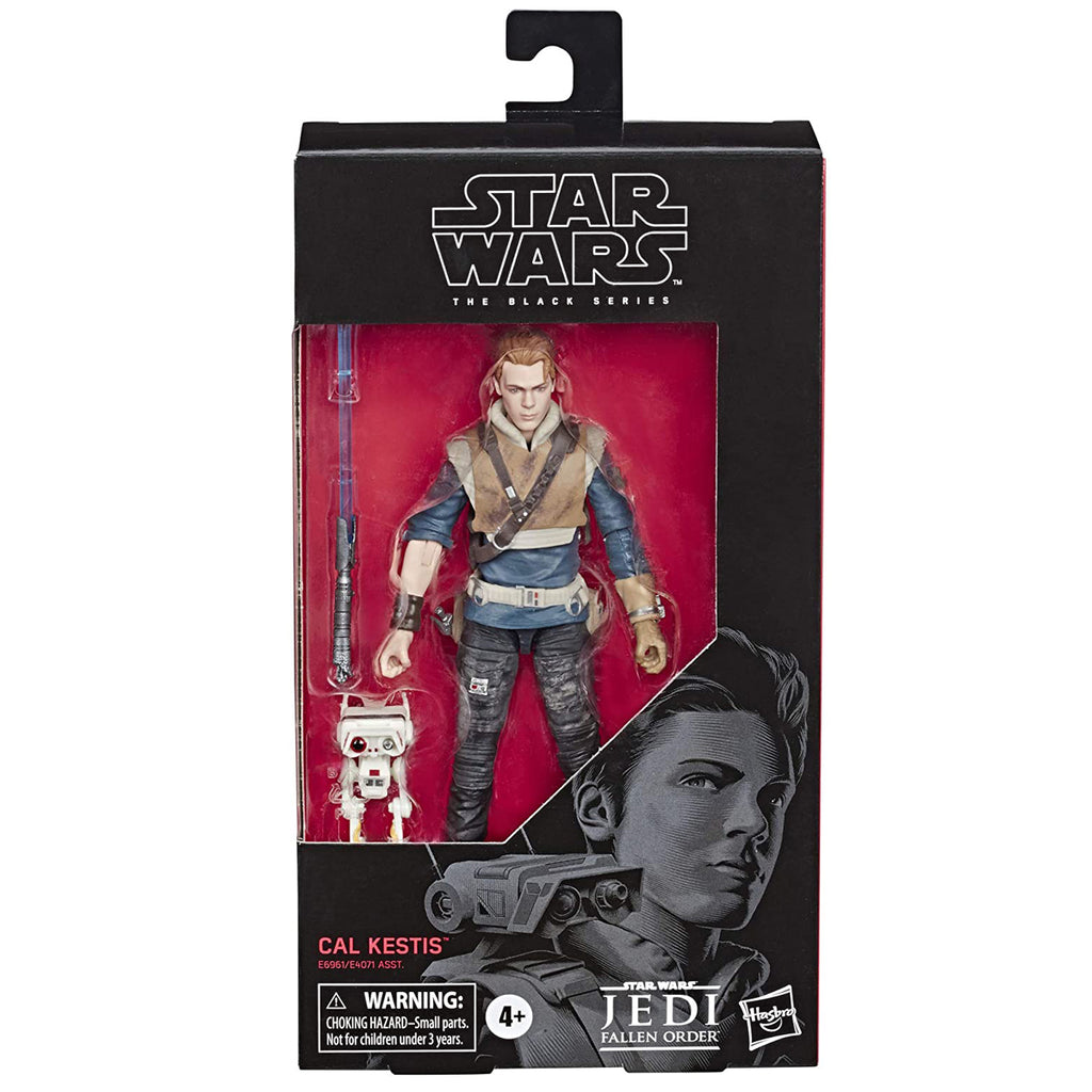 "Star Wars The Black Series Cal Kestis Toy 6"" Scale Jedi: Fallen Order Collectible Action Figure"