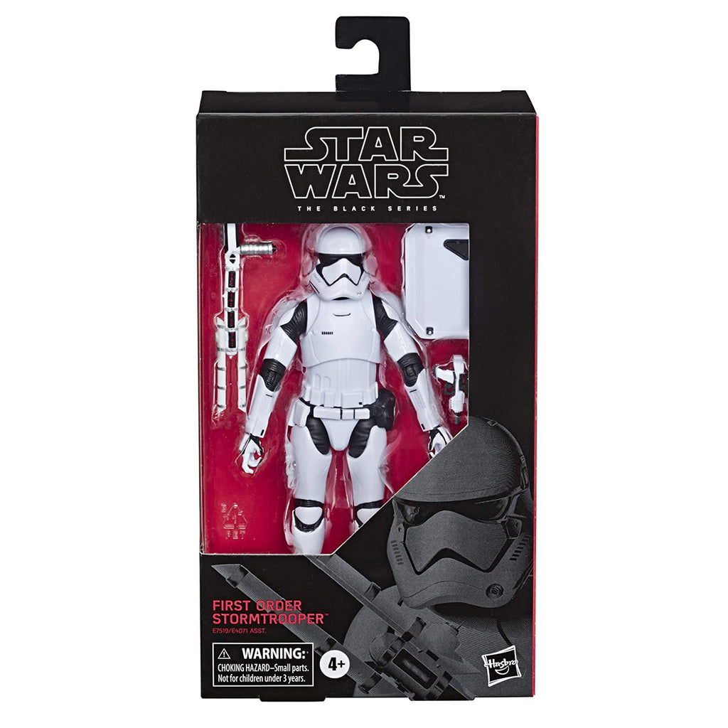 "Star Wars The Black Series First Order Stormtrooper Toy 6"" Scale The Last Jedi Collectible Action Figure"