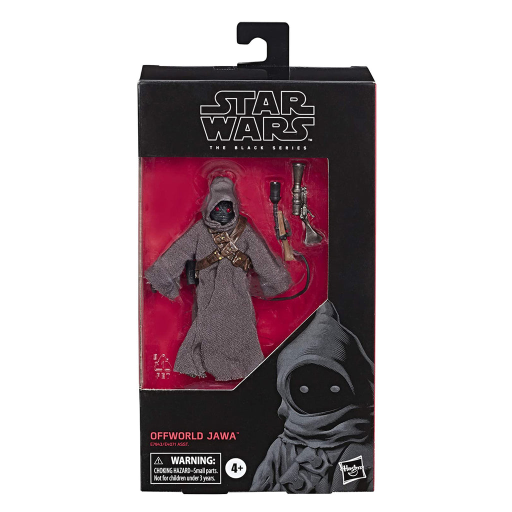"Star Wars The Black Series Offworld Jawa Toy 6"" Scale The Mandalorian Collectible Action Figure"