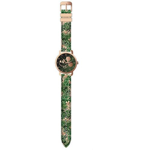 Mickey Mouse Forest Printed Dial with Printed Strap Watch