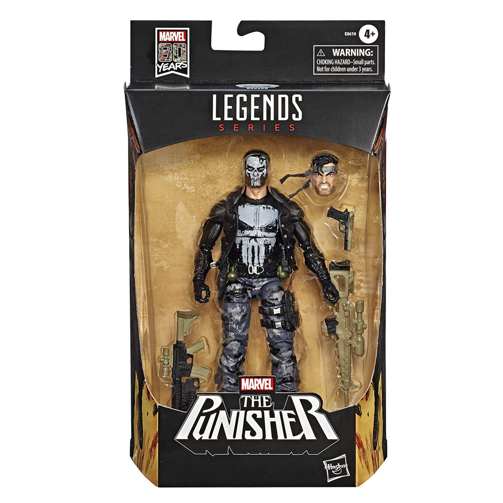 Marvel Legends 80 Years Punisher 6 inch Action Figure
