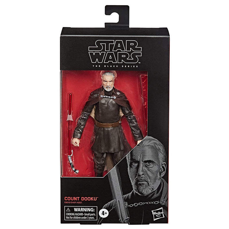 "Star Wars The Black Series Count Dooku Toy 6"" Scale Attack of The Clones Collectible Figure"