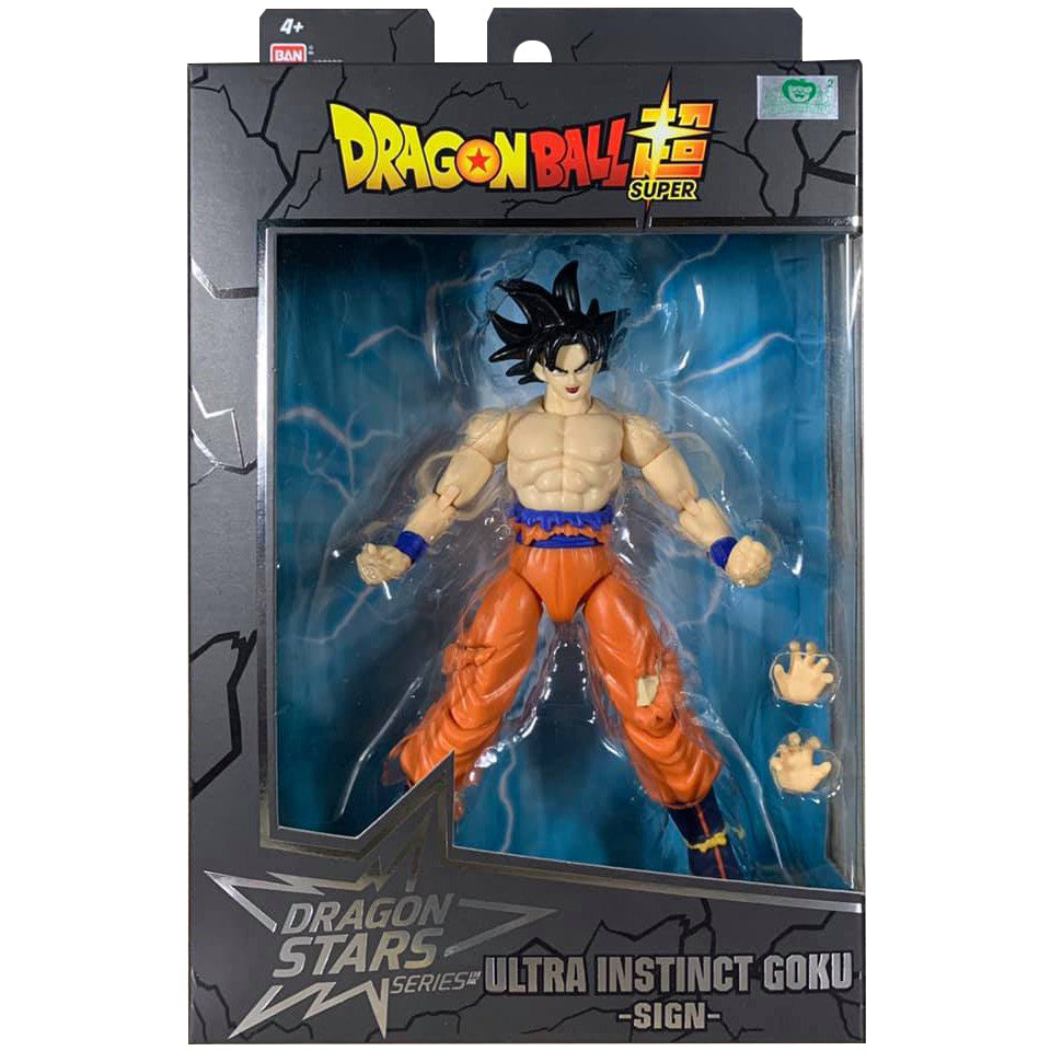 Dragon Ball Super - Dragon Stars Ultra Instinct Omen Goku Figure (Series 15)
