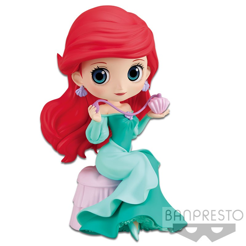 Banpresto Disney Q Posket Perfumagic Ariel Ver. 2 (Pastel Color) Figure