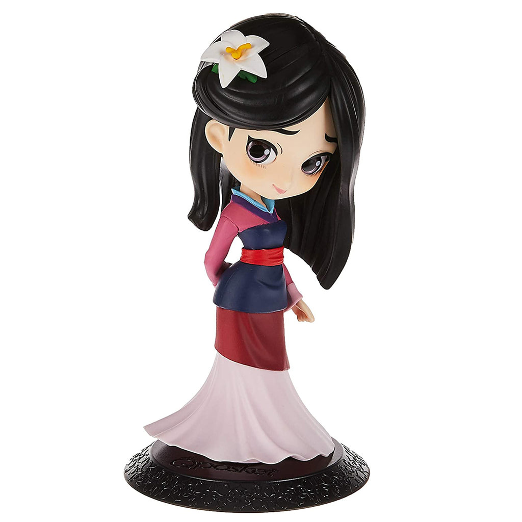 Banpresto Disney Q Posket Mulan Ver. 1 (Normal Color) Figure