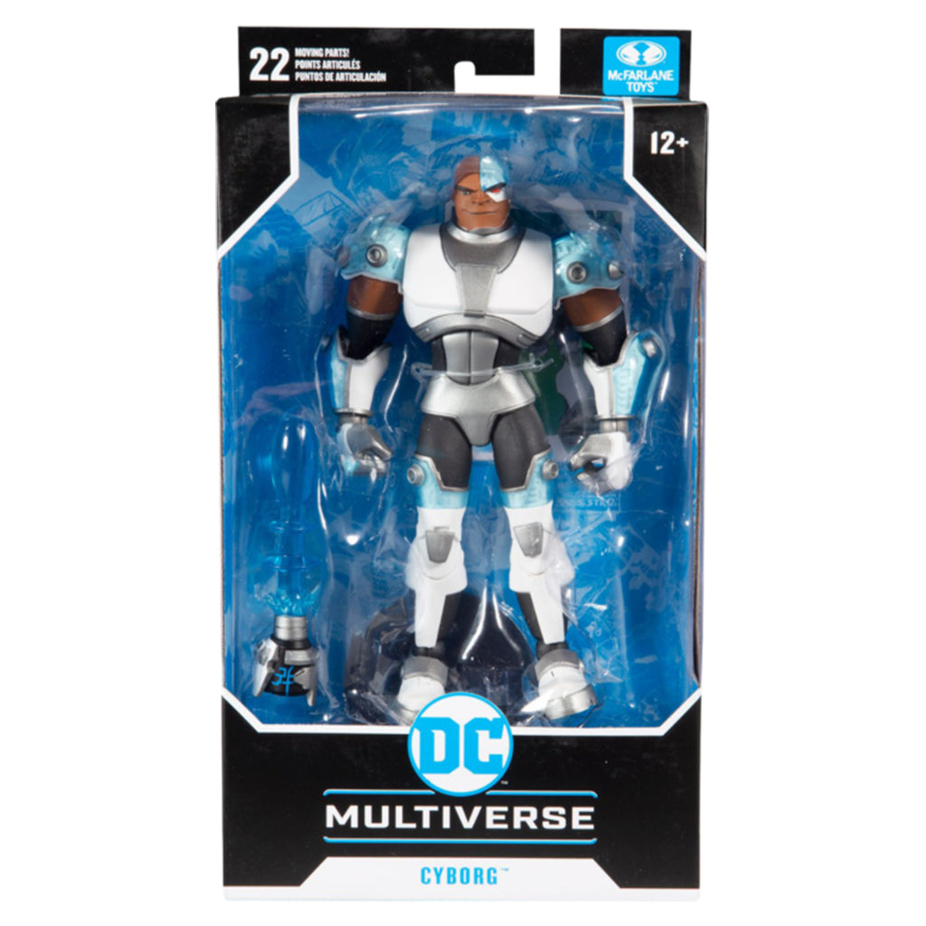 DC Multiverse Animated CyborgDC Multiverse Animated 7 Action Figures -Cyborg