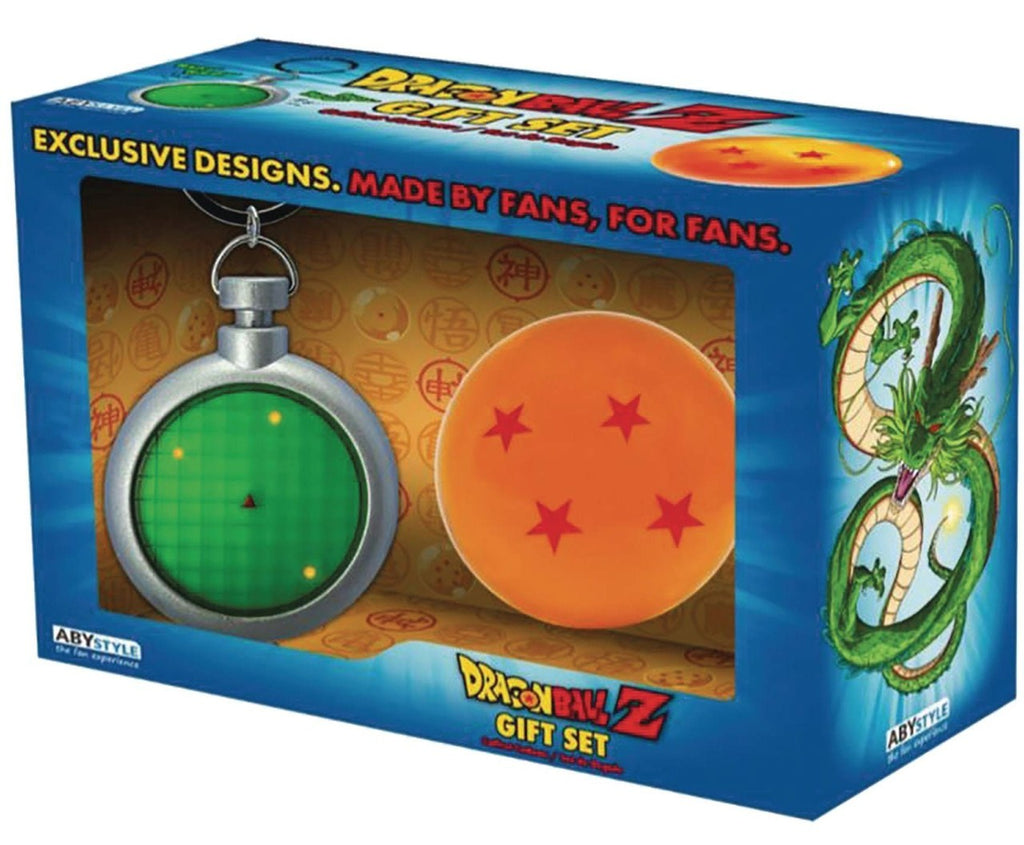 ABYstyle Abysse Dragon Ball Z - Radar Keychain and Dragon Ball Set