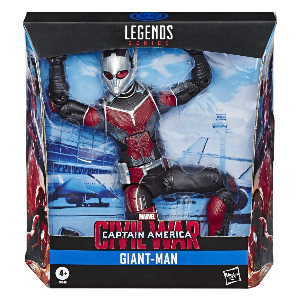 "Marvel Legends Series Build-A-Figure Deluxe 6"" Scale Collectible Action Figure Giant-Man Toy"