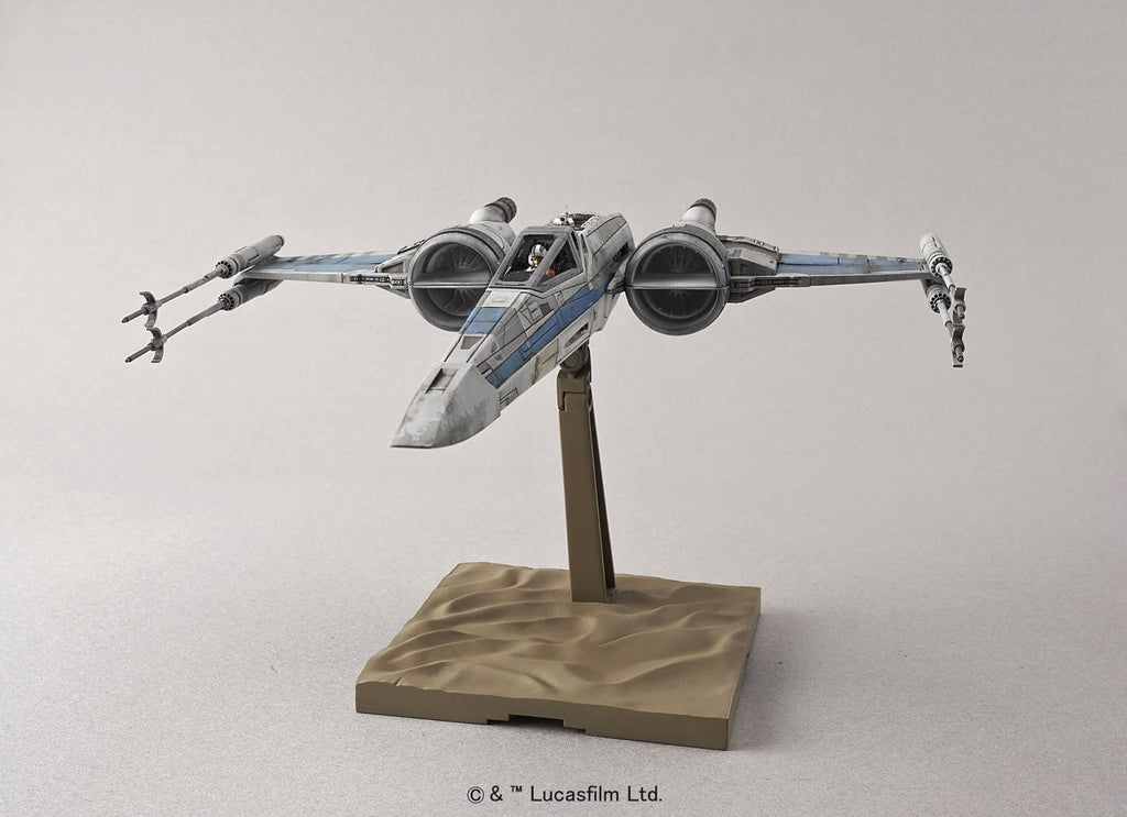 Bandai Star Wars 1/72 Scale X-Wing fighter Resistance Specifications Model