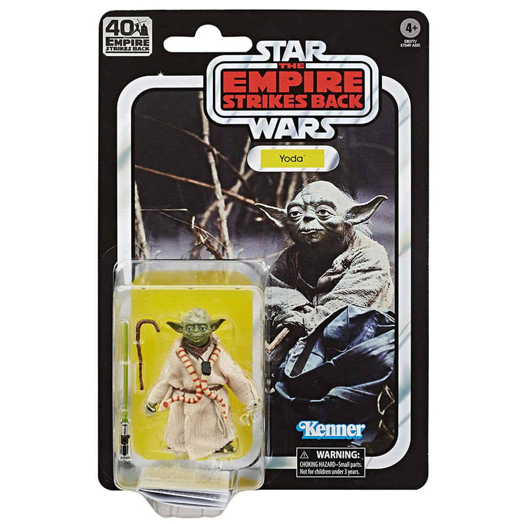 Star Wars The Black Series Yoda 6-inch Scale The Empire Strikes Back 40TH Anniversary Collectible Figure