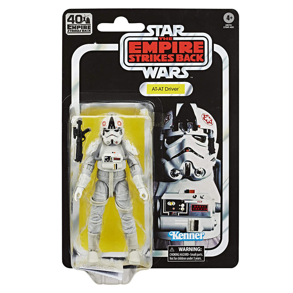 Star Wars The Black Series at-at Driver 6-inch Scale The Empire Strikes Back 40TH Anniversary Collectible Figure