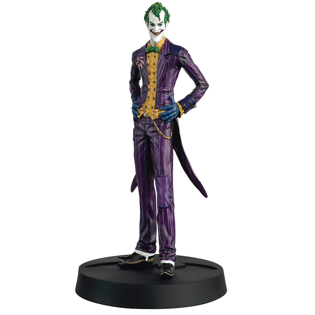 Eaglemoss Batman Arkham Asylum 10th Anniversary Collection: #2 The Joker Figurine