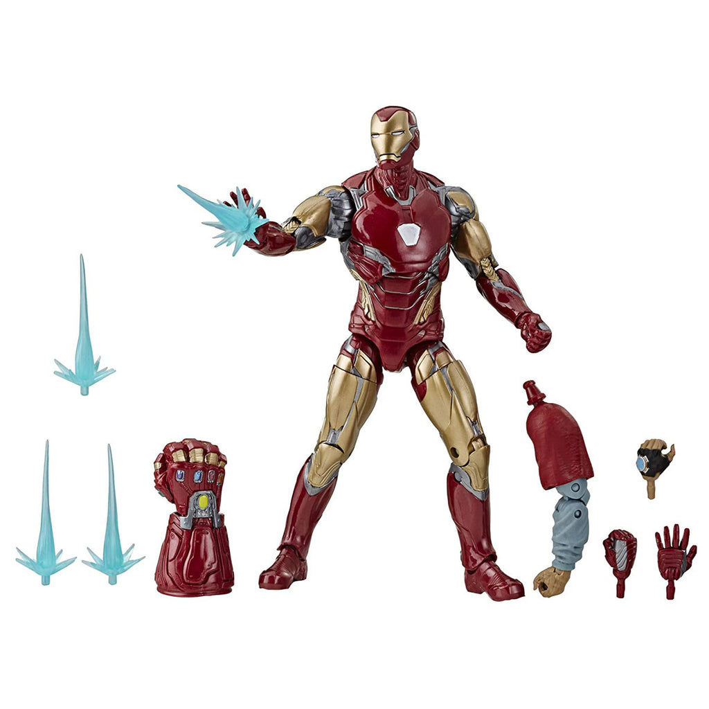"Avengers Marvel Legends Series Endgame 6"" Collectible Action Figure Iron Man Mark Lxxxv"