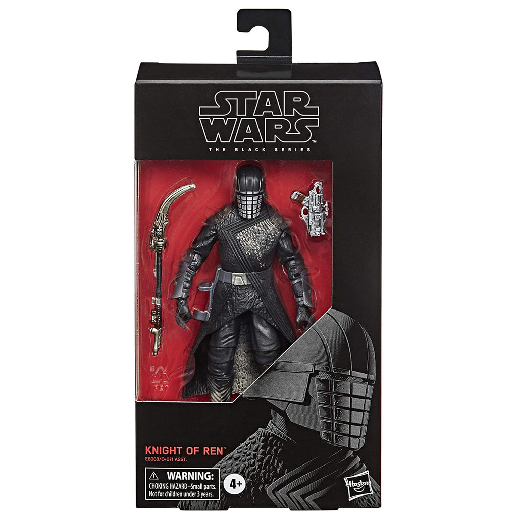 "Star Wars The Black Series Knight of Ren Toy 6"" Scale The Rise of Skywalker Collectible Figure"