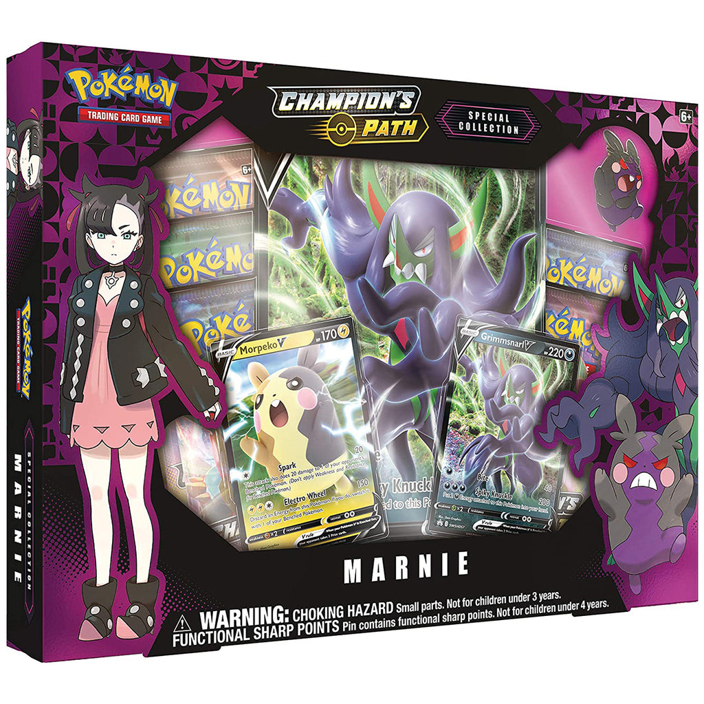 "Pokémon TCG: Champion's Path Special Collection-Marnie ""SPANISH EDITION"""