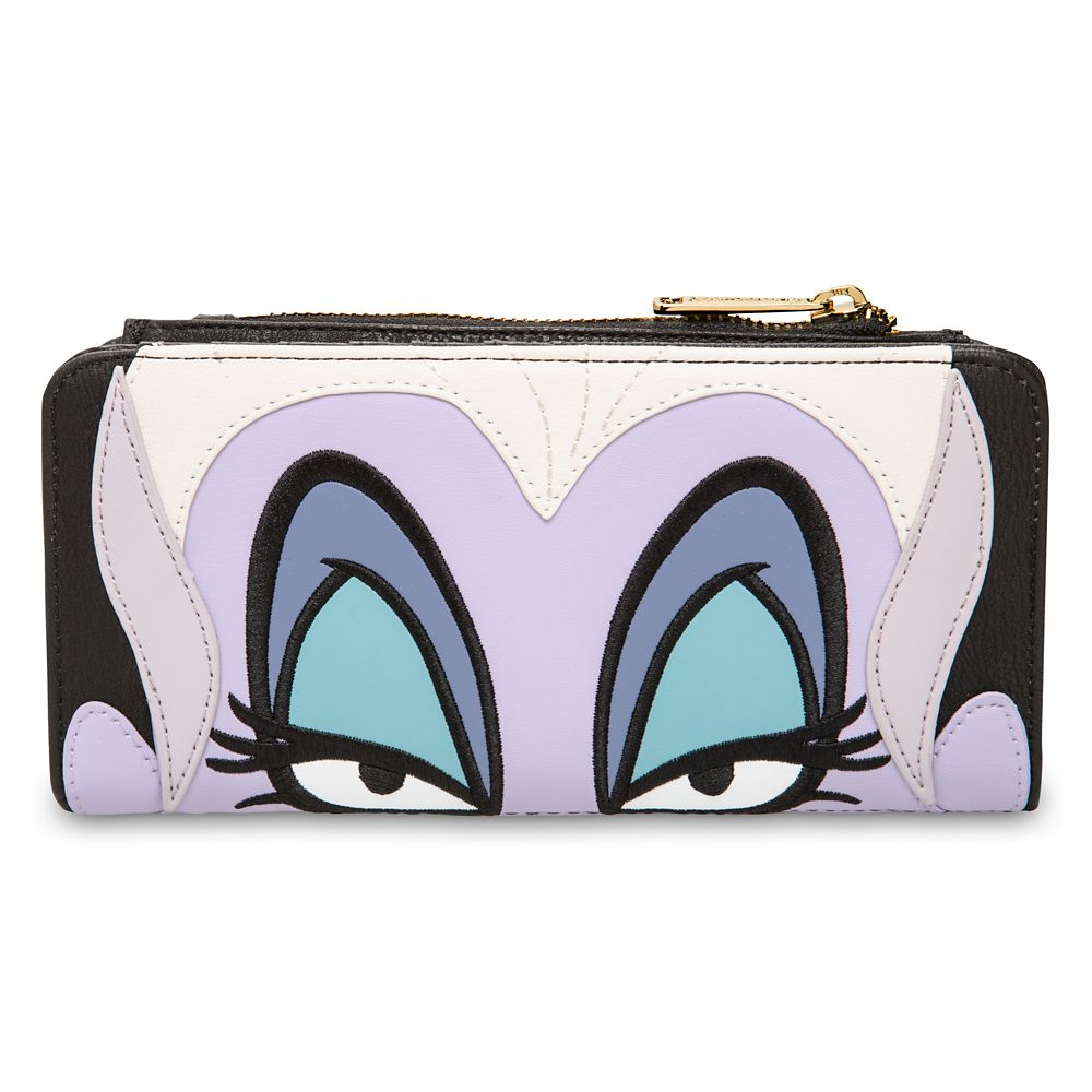 Loungefly The Little Mermaid Ursula Zip Wallet Standard