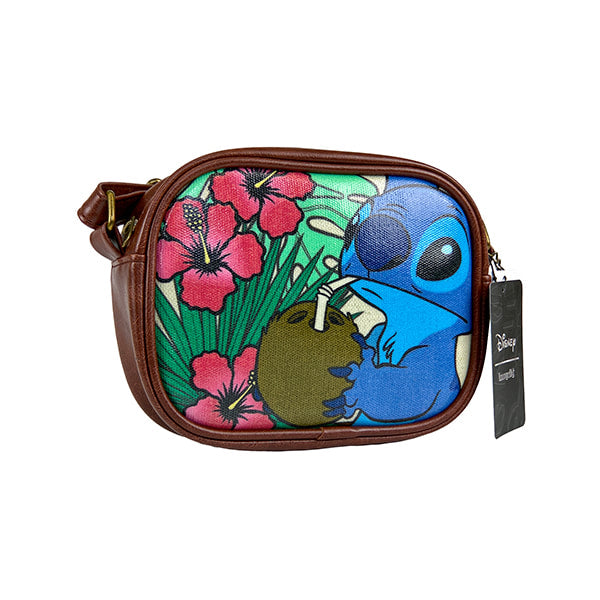 Lilo & Stitch-Stitch Coconut Cross body Purse - Entertainment Earth Exclusive
