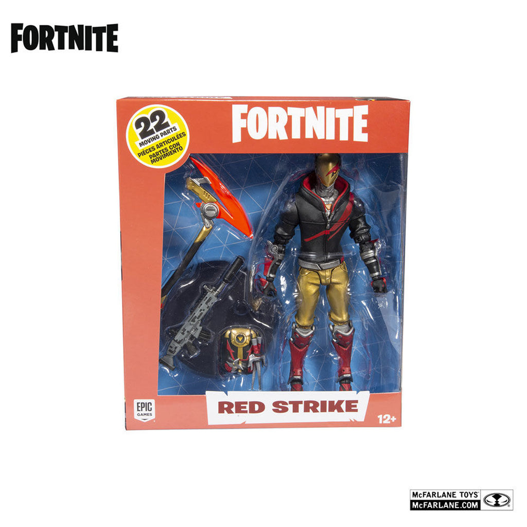 McFarlane Toys Fortnite Red Strike Day & Date Premium Action Figure