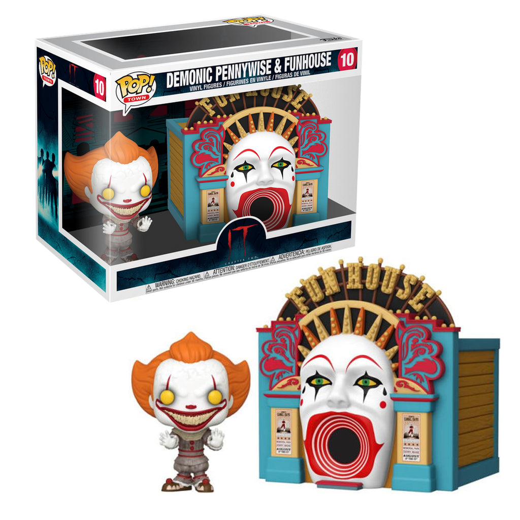 Funko Pop! Town #10: It 2 - Demonic Pennywise with Funhouse