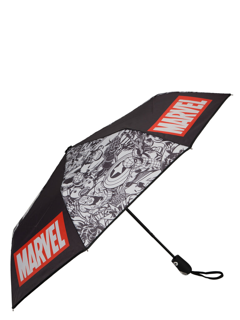 Logo and Avengers Comic Characters 42 Auto-Open Umbrella