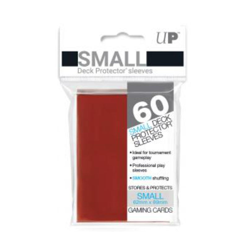 Ultra Pro Deck Protector, Small, Red, 60 Count