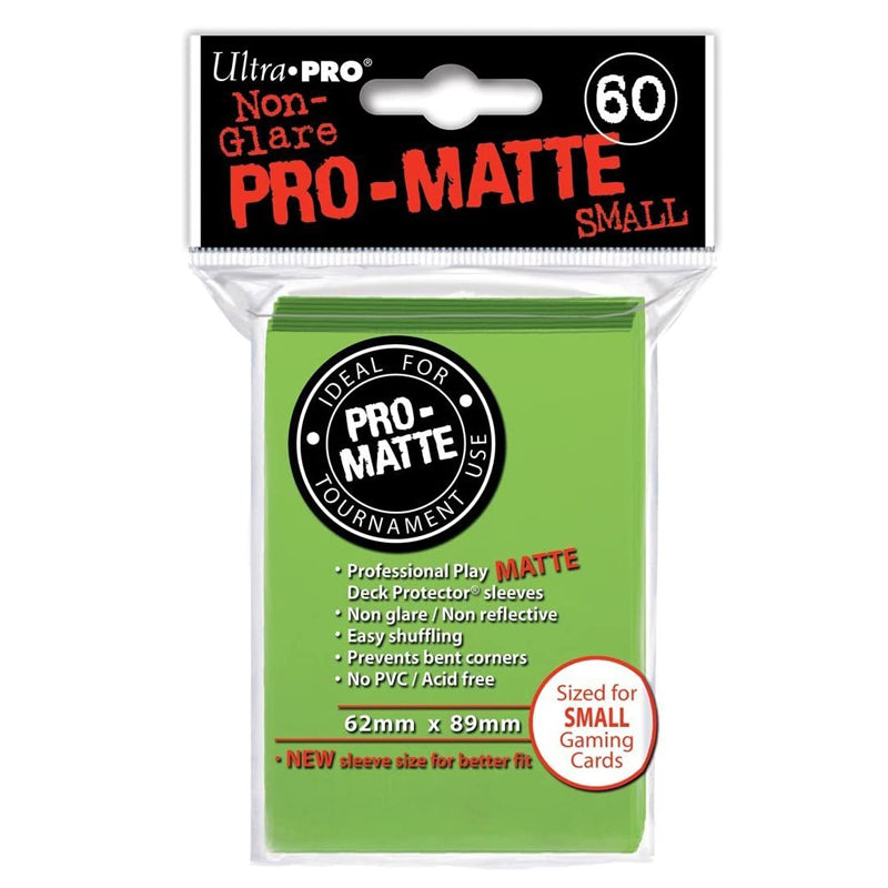 Ultra Pro Deck Protector, Small, Lime Green, 60 Count