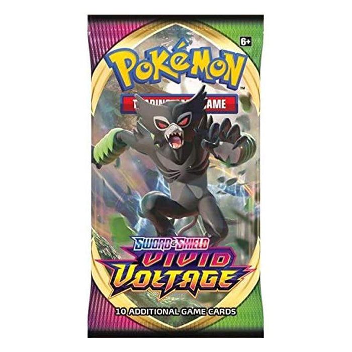 "Pokemon-Sword & Shield 4 Vivid Voltage-Booster Pack ""ENGLISH EDITION"""