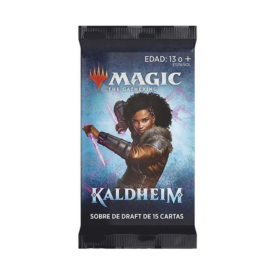 "Magic The Gathering Kaldheim Draft Boosters | 5 Cards Per Packs ""SPANISH EDITION"""
