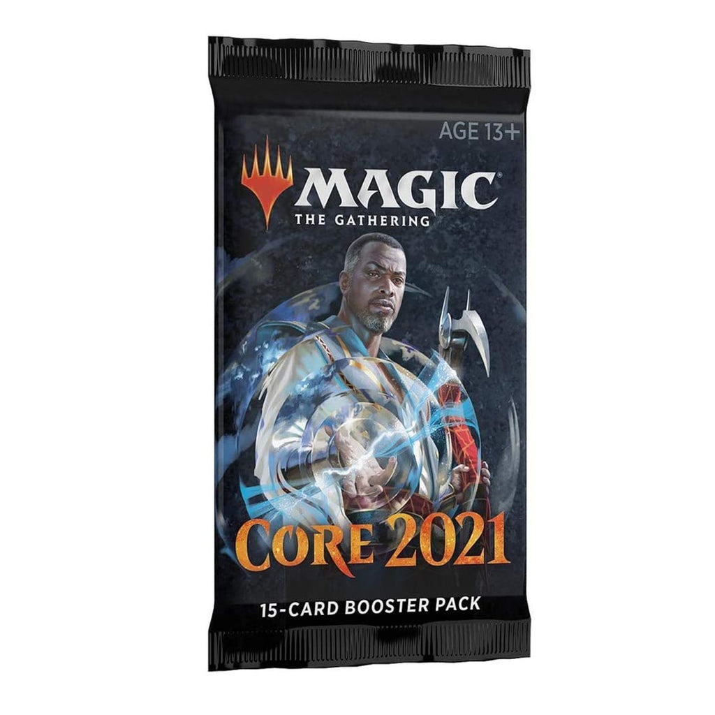 Magic: The Gathering-2021 Core Set Draft Booster (English Edition)