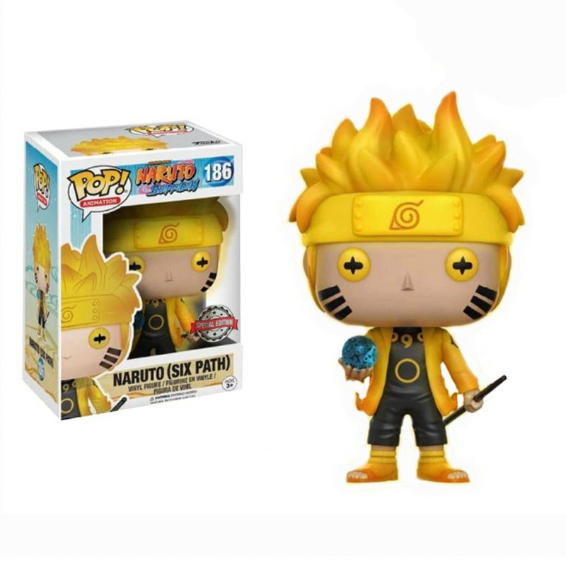 Funko POP! #186: Naruto Shippuden Naruto (Six Path) Exclusive