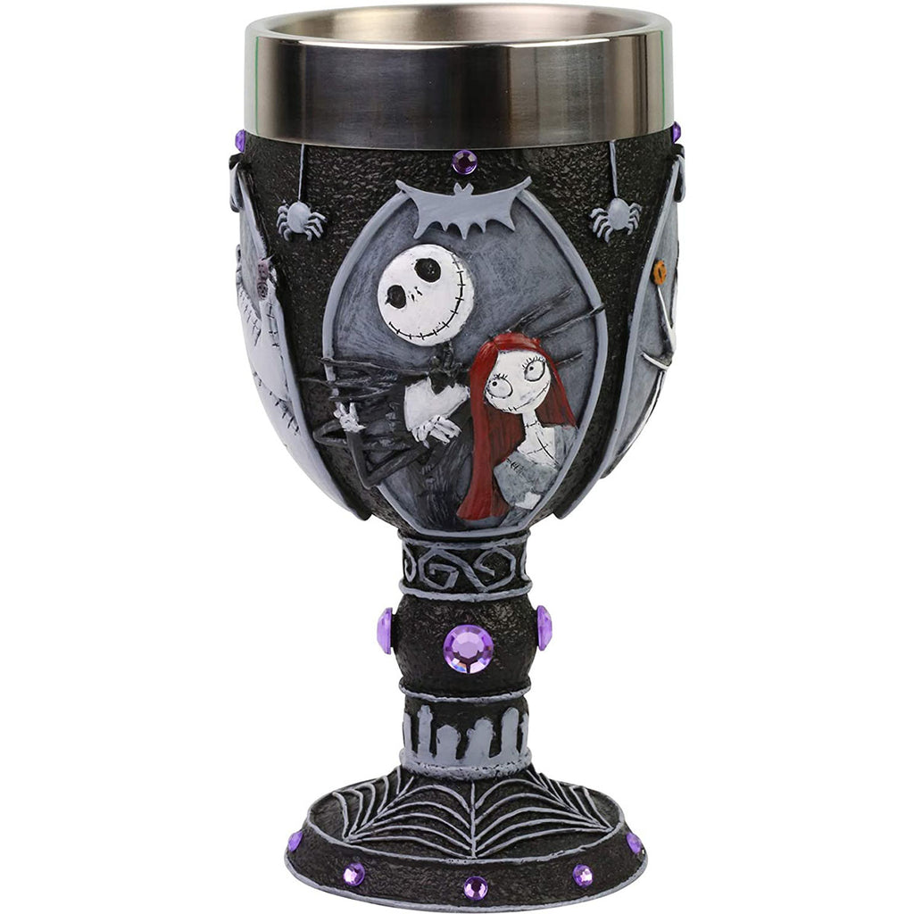 Enesco Disney Showcase The Nightmare Before Christmas Characters Decorative Chalice Figurine