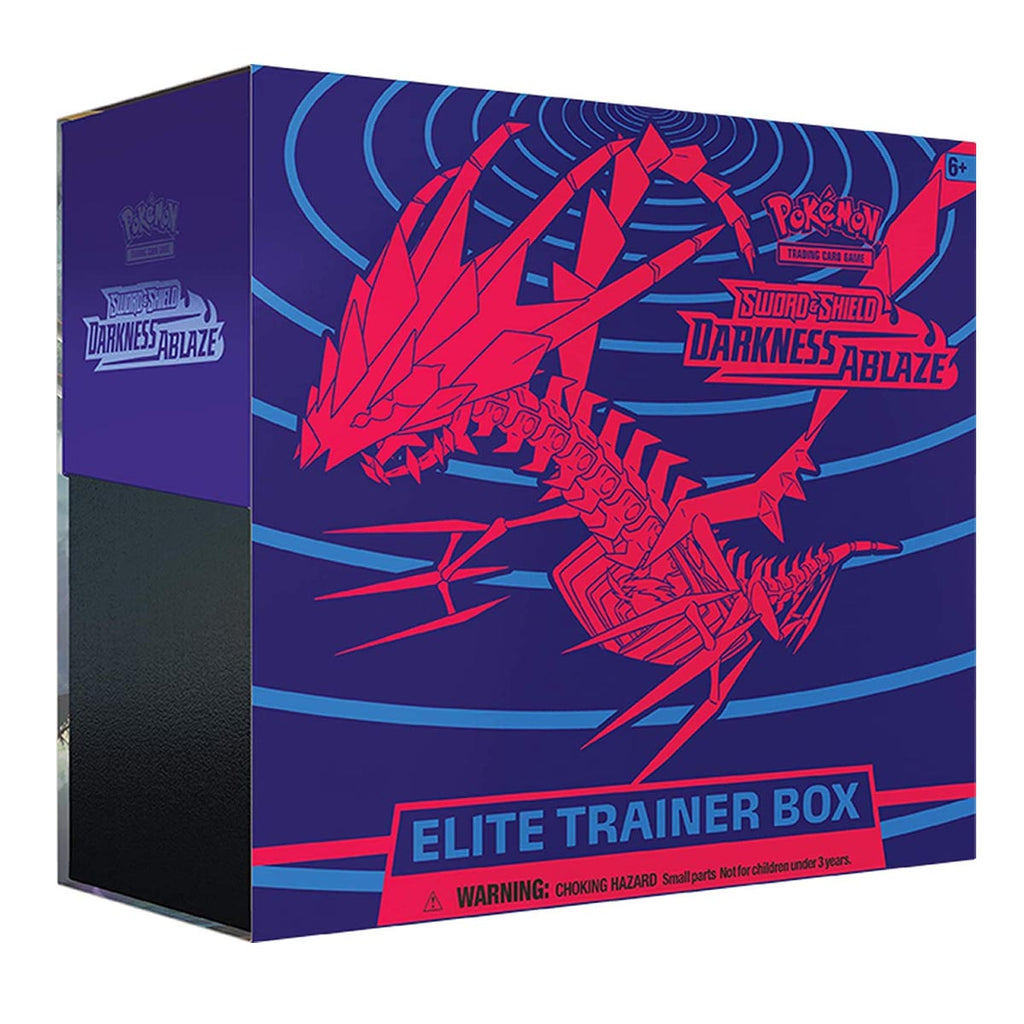 "Pokémon TCG: Sword & Shield Darkness Ablaze Elite Trainer Box ""ENGLISH EDITION"""