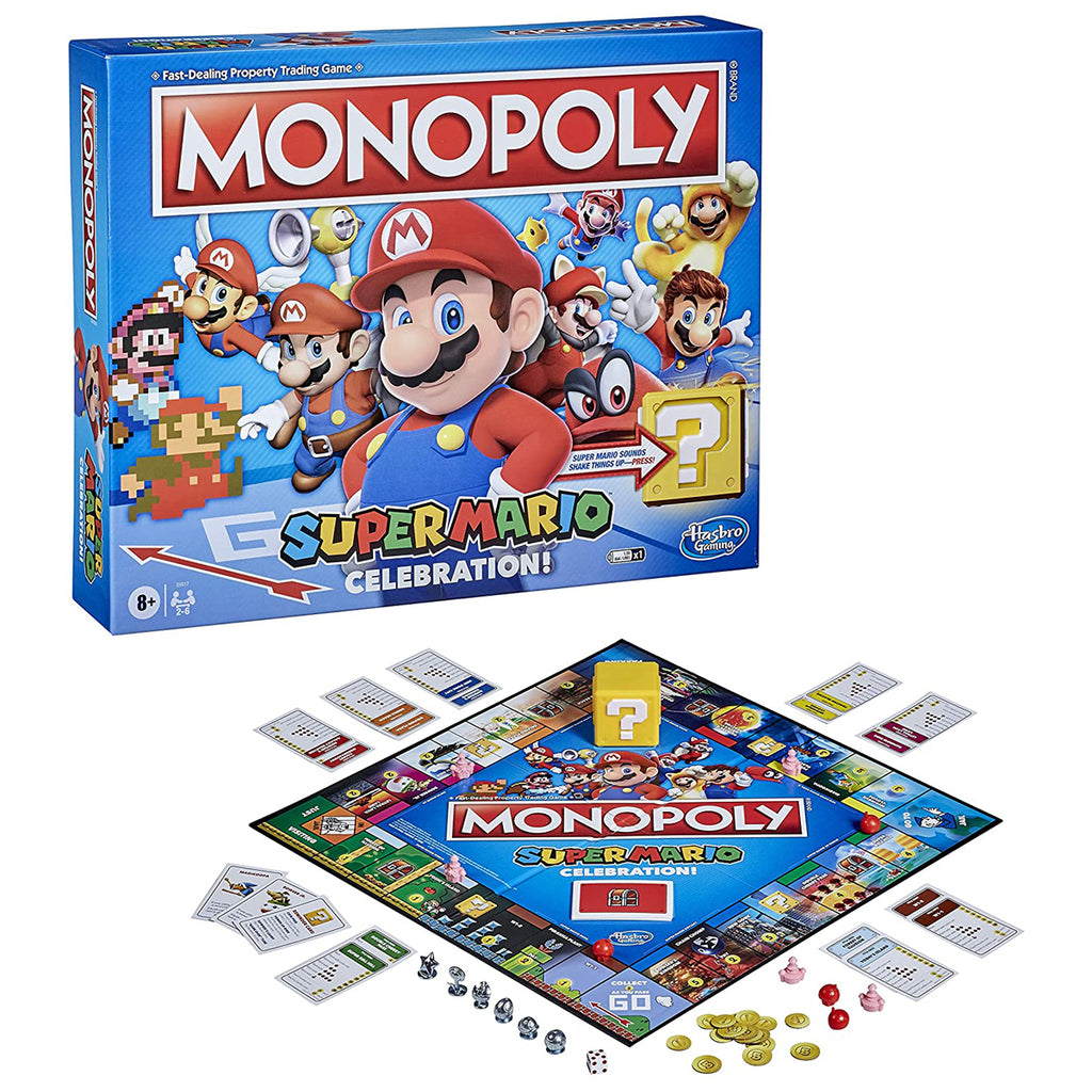 Monopoly Super Mario Celebration Edition Board Game for Super Mario