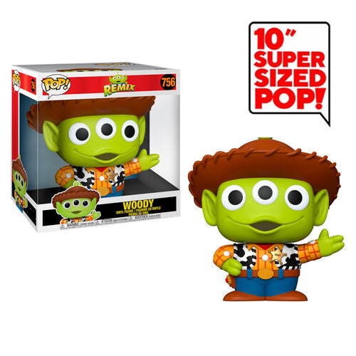 Funko Pop! Disney: Pixar Alien Remix - 10 Inch Alien as Woody
