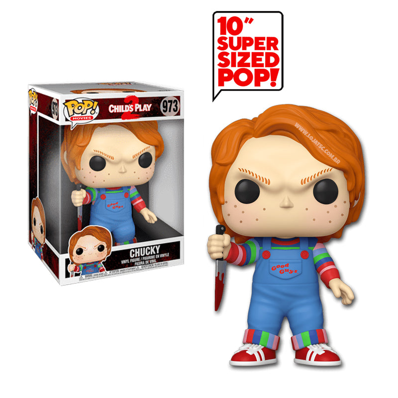 Funko Pop! Movies #937: Child's Play - 10 Inch Chucky