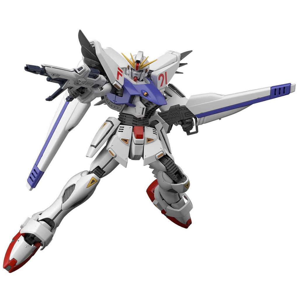 "Bandai Hobby MG 1/100 Gundam F91 (Ver 2.0) ""Gundam F91"" Model Kit"