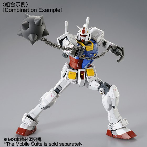 Bandai 1/100 MG, Gundam RX-78-2 Version 3.0 Model Kit