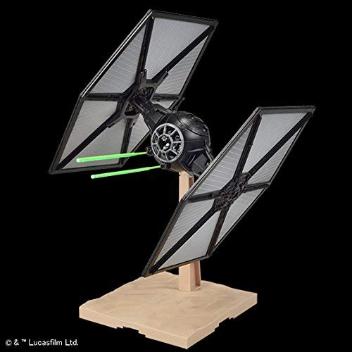 Bandai Hobby Plastic Model First Order Tie Fighter Star Wars: The Force Awakens Kit (1/72 Scale)