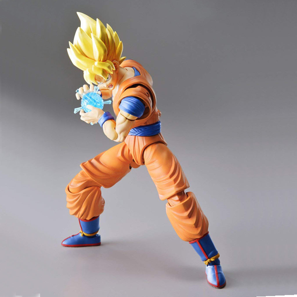 Dragon Ball Z Super Saiyan Son Goku (New PKG Ver), Bandai Figure-riseStandard