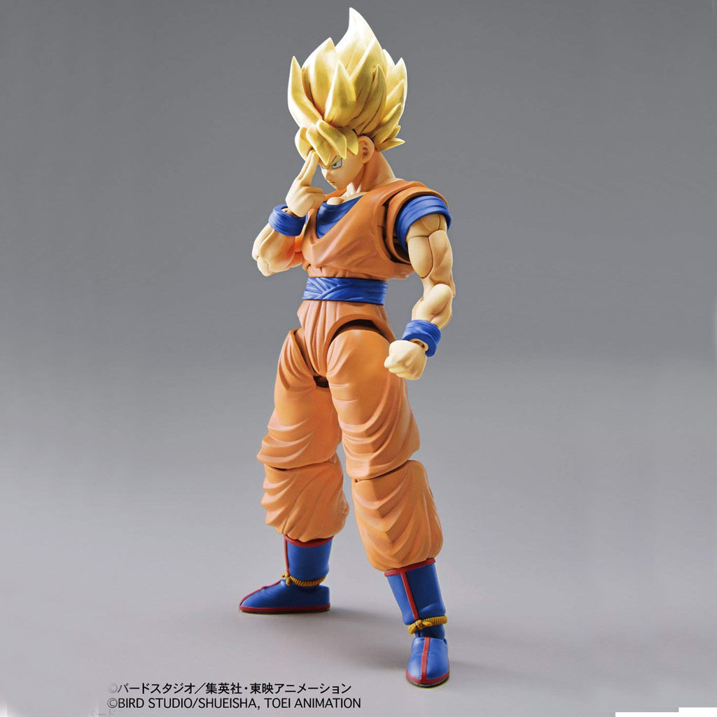 "Bandai Hobby Figure-Rise Standard Super Saiyan Son Goku ""Dragon Ball Z"" Building Kit"