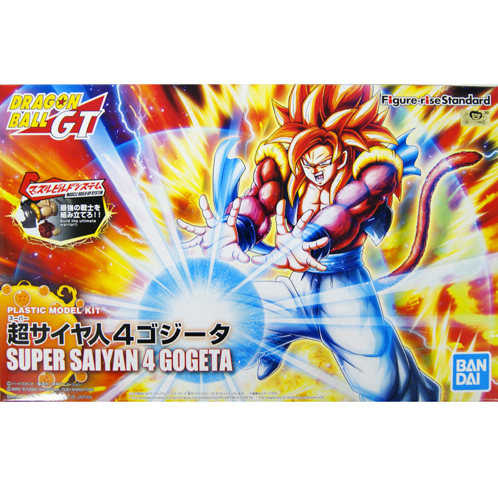 Dragon Ball Super Saiyan 4 Gogeta, Bandai Spirits Figure-Rise Standard