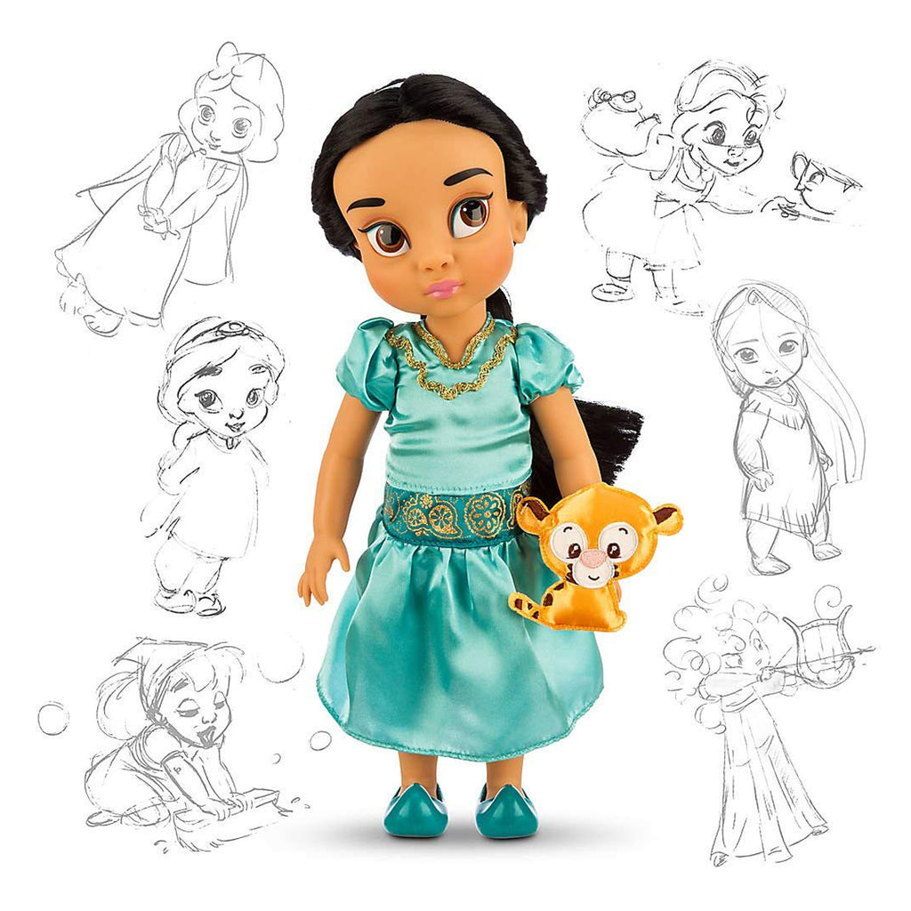 Disney Princess Animators' Collection Toddler Doll 16'' H - Jasmine