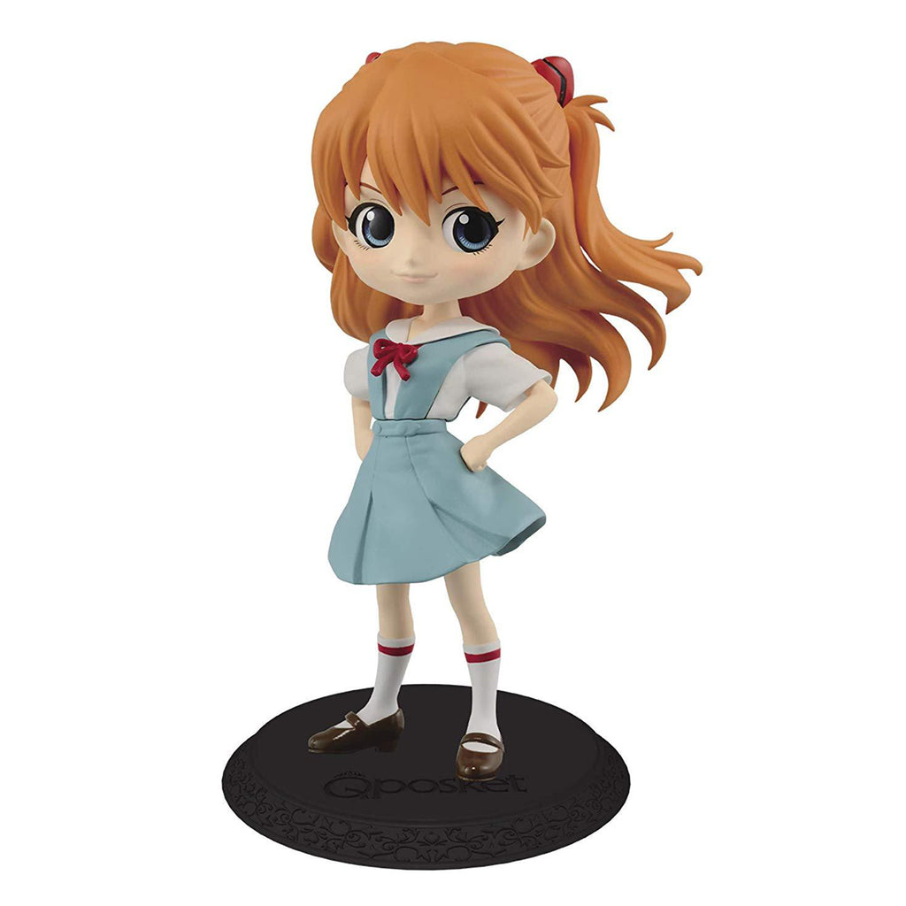 Banpresto Evangelion Movie Q Posket-Shikinami Asuka Langley-(Ver.B)