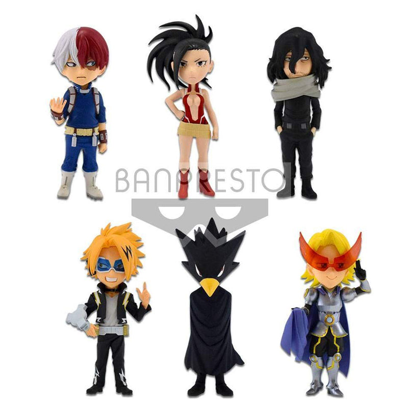 Banpresto My Hero Academia WCF Chibi Figures 7 cm Assortment Vol. 2 Mini Fumikage Tokoyami