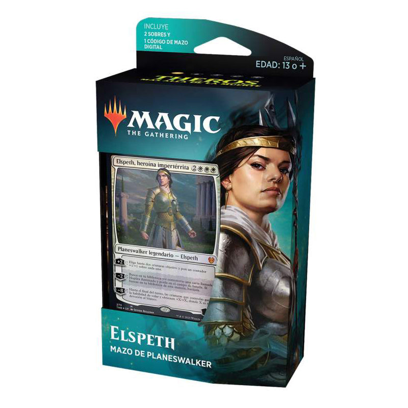 "Magic The Gathering: Theros Beyond Death Planeswalker Deck ""Elspeth"" (Spanish Edition)"